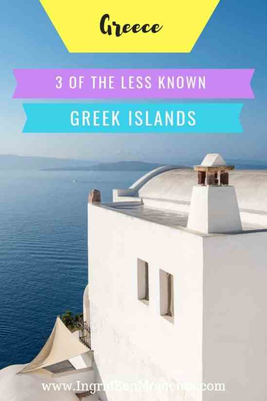 3 less known Greek islands
