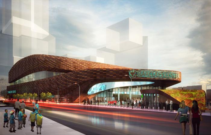 barclays center plaza, barclays center, atlantic yards, green roof, shop architects, brooklyn, new york city