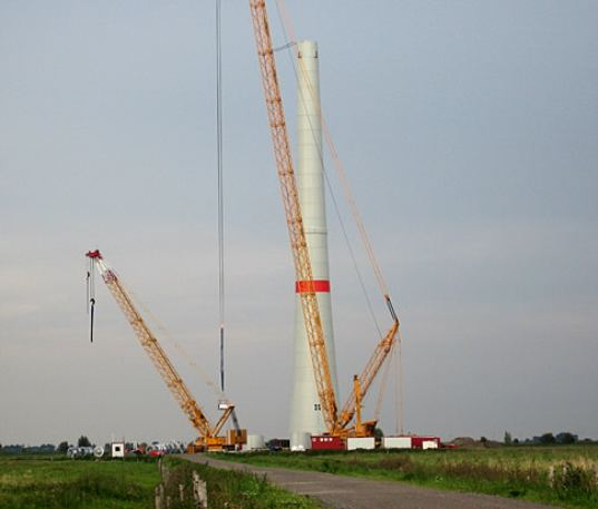 wind energy, renewable energy, wind turbine, world's largest wind turbine, norway, enova, sway, prototype