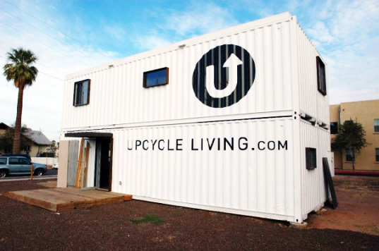 Upcycle Living Shipping container house
