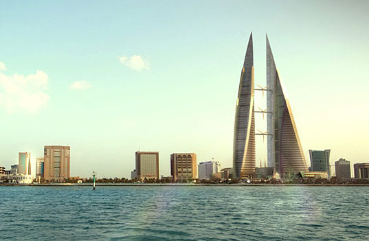 BAHRAIN WORLD TRADE CENTER Wind Turbines, Manama, Wind Power, Eco Scraper, Atkins, Green sky scraper, Bahrain Eco Building, Bahrain WTC