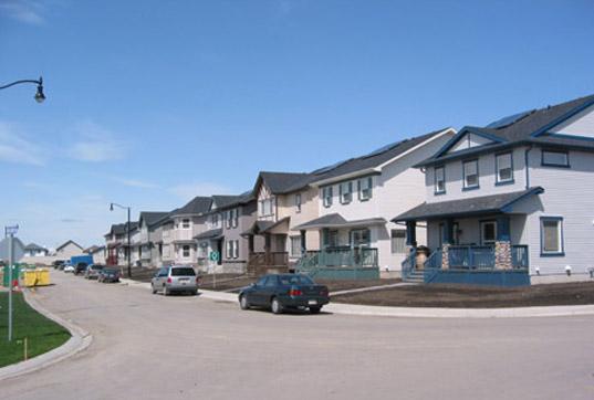 Drake Landing Solar Community, Drake Landing Alberta Canada, solar thermal community Canada, solar thermal community, solar thermal energy, solar thermal heating, Okotoks solar community, drake3.jpg