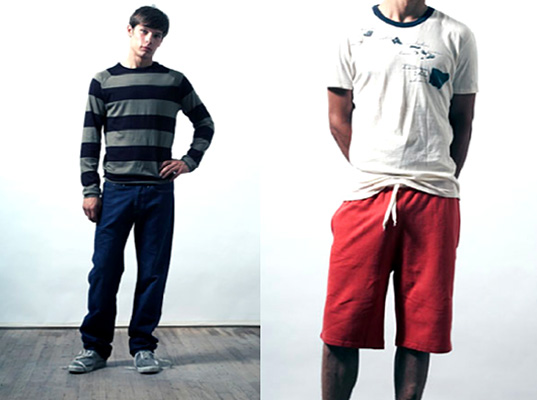 Loomstate organics..some items frmo their new menswear line- the look on the right would be perfect for the fourth