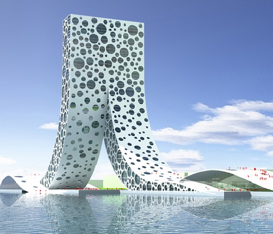 Ren Building, Bjarke Ingels Group, Shanghai Proposal