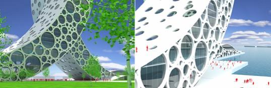 Ren Building Details, Bjarke Ingels Group, Shanghai Proposal