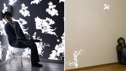 Light Emitting Wallpaper