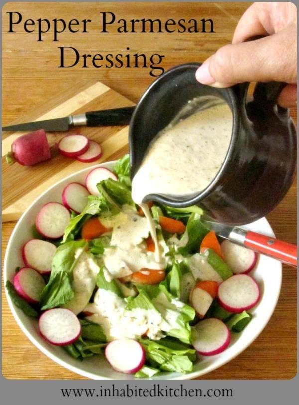 pepperparmesan dressing