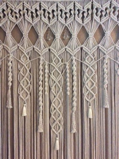 9 diy patterns for macrame curtains