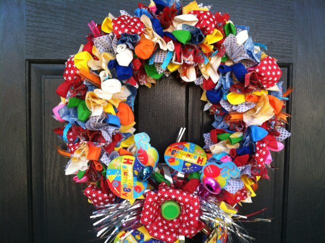 Balloon Wreaths That You Can Create Easily Inhabit Zone