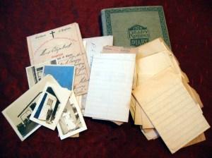kathct-vintage-20s-30s-depression-era-diary-letters-photos