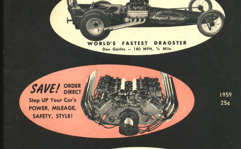 Slowing Down To Look At Vintage Hot Rod Ephemera