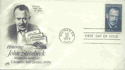 John Steinbeck First Day Cover