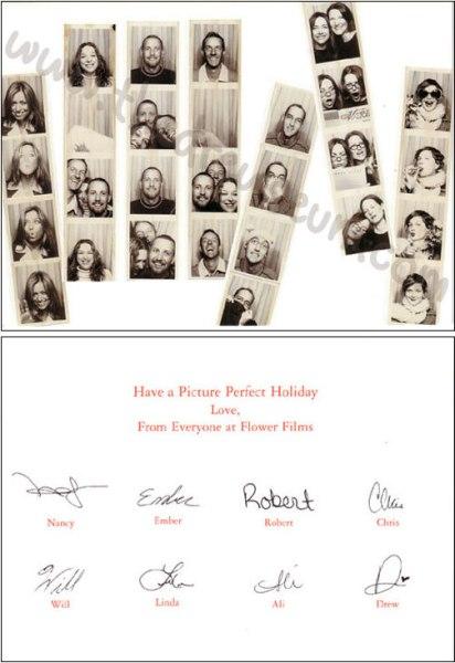Flower Films Christmas Card