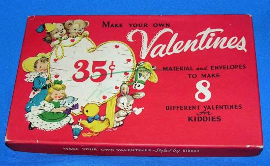Vintage DIY Valentines Kit