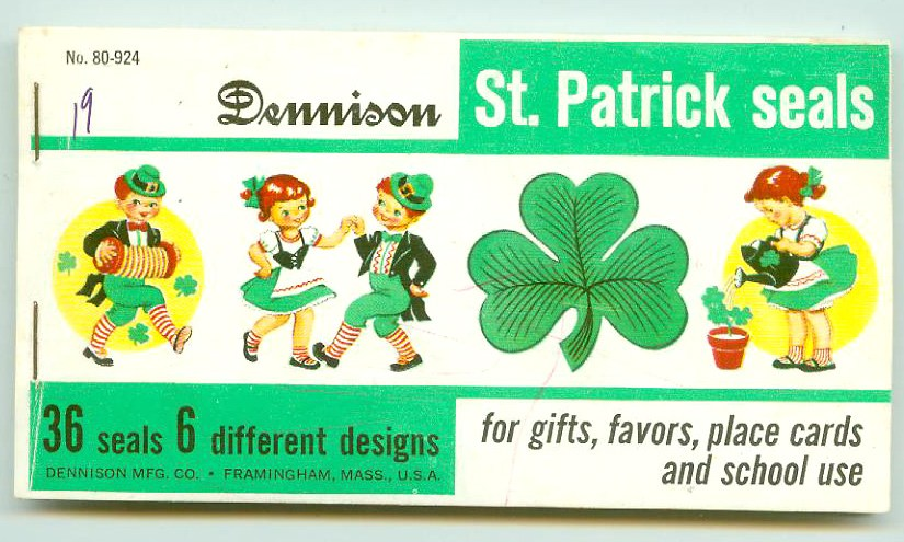 Vintage Saint Patrick's Day Seals