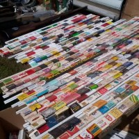 A Cool Way To Display Your Matchbook Collection