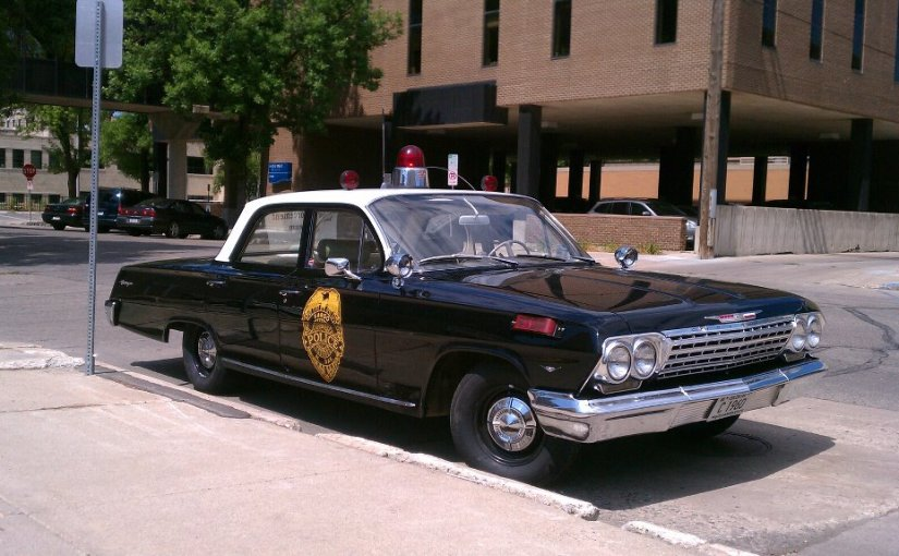 Fargo's Police Cars From The Past