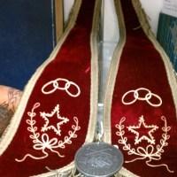 Antique Odd Fellows: Native American Peace Medal On IOOF Collar