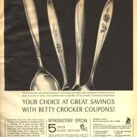 Vintage Flatware From Oneida & Betty Crocker