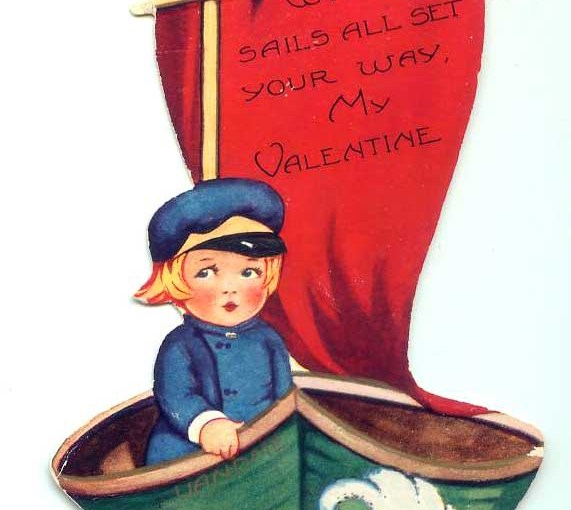 Sails All Set For Vintage Valentines