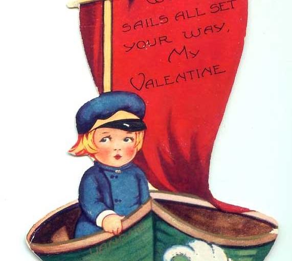 Sails All Set For Vintage Valentines