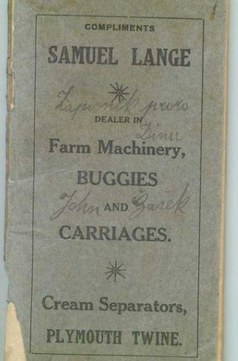Authentic Antique Pioneer & Farm Homesteading Ephemera