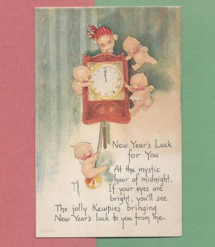 Happy New Year's From Rose O'Neill & The Kewpies