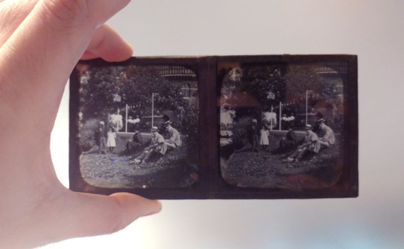 Glass Stereograph Images
