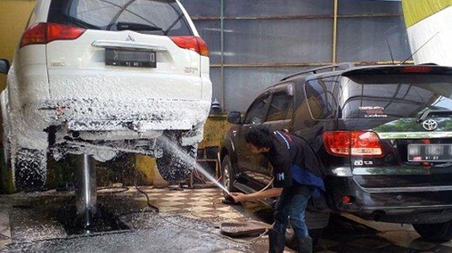 蒸気による洗車の画像結果