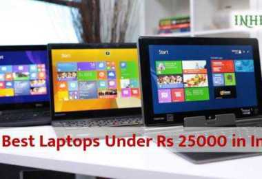 10 Best Laptops under Rs 25000 in India