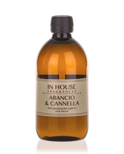 Arancio & Cannella - Ricarica Profumo 500 ml - In House Fragrances