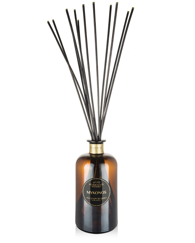 Mykonos - Diffusore vetro 500ml midollini - In House Fragrances Premium