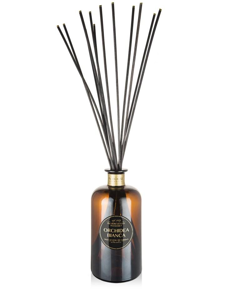 Orchidea Bianca - Diffusore vetro 500ml midollini - In House Fragrances Premium