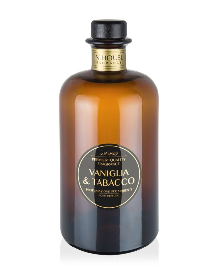 Vaniglia & Tabacco - Room diffuser 500ml - In House Fragrances Premium