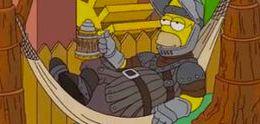 Simpsons homenageia Game-Of-Thrones, veja no Iniciativa Nerd