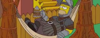Simpsons homenageia Game-Of-Thrones, veja no Iniciativa Nerd
