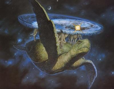 Discworld: a tartaruga A'Tuin