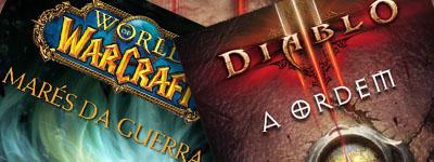 Novos lançamentos literários da Blizzard para Diablo e WOW
