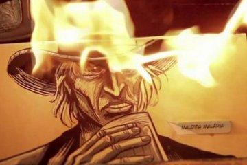 Malária: uma criativa forma de se apresentar uma história em quadrinhos