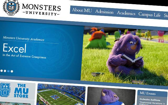 Conheça a Universidade de Monstros S.A.
