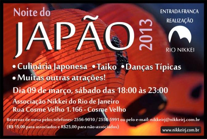 Noite do Japao 2013