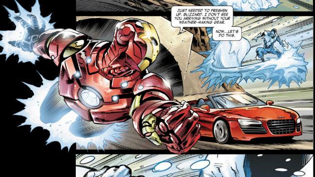 Homem de Ferro: Marvel e Audi formam parceria para lançar webcomic