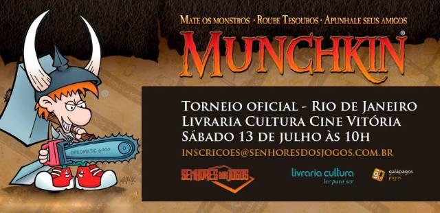 Torneio de Munchkin no Centro do RJ