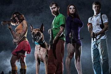 Cosplay: Scooby Doo e sua turma encarando o apocalipse zumbi