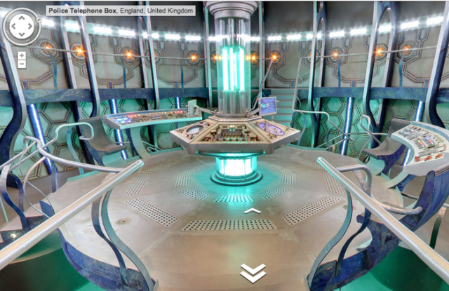 Entre na TARDIS de Doctor Who pelo Google Maps