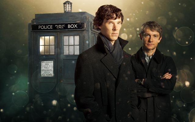 WHOLOCK: fã reúne Sherlock e Doctor Who em vídeo!