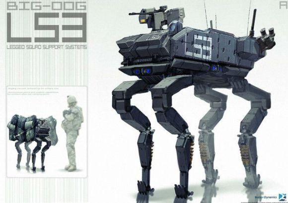 Boston Dynamics LS3