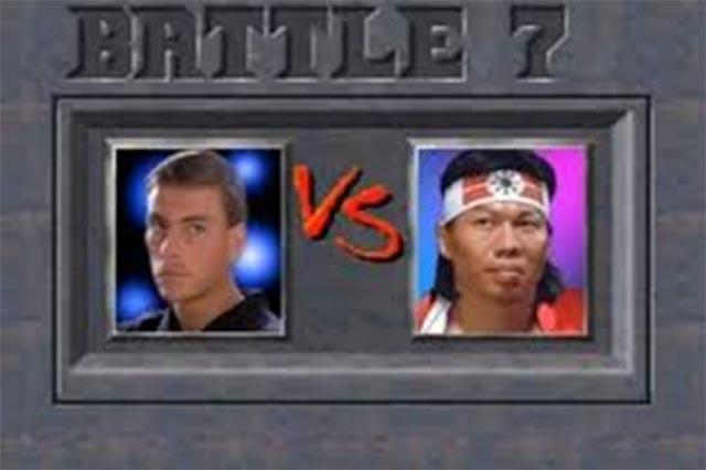 Filme de Van Damme vira partida de Mortal Kombat