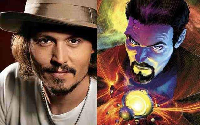 Marvel quer Depp como Strange