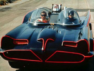 O Batmóvel era um Lincoln Futura 1955